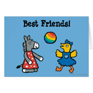 Maisy at Preschool with Friends on the Playground Card