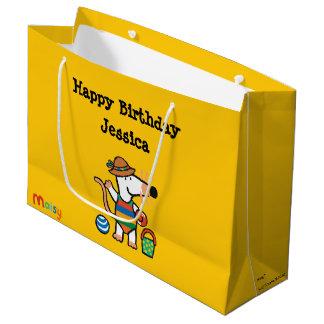 Maisy at the Beach Birthday Large Gift Bag