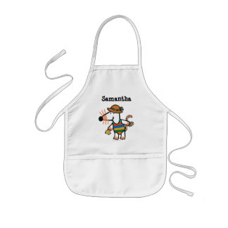 Maisy Collecting Shells At The Beach Kids Apron