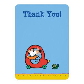 Maisy Drives a Cute Red Car Card