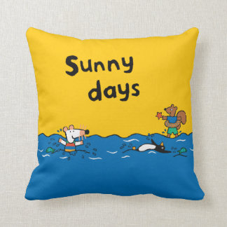 Maisy Goes Swimming at the Beach Cushion