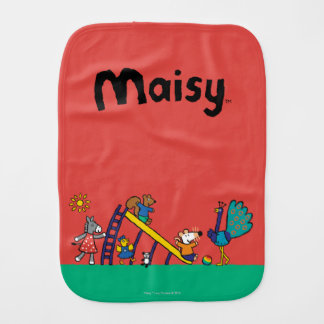 Maisy on the Playground with Friends Burp Cloth