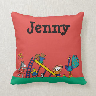 Maisy on the Playground with Friends Cushion
