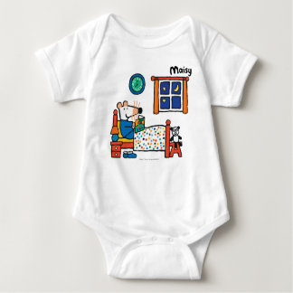Maisy Ready for Bed Blue Pajamas Baby Bodysuit