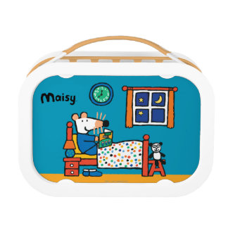 Maisy Ready for Bed Blue Pajamas Lunch Box