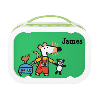 Maisy Ready for Vacation with Luggage Lunch Box