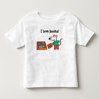 Maisy with Library Books Toddler T-Shirt