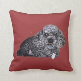 Maitai the Poodle Cushion