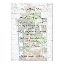 Maitland Art Centre Commitment Ceremony 13 Cm X 18 Cm Invitation Card