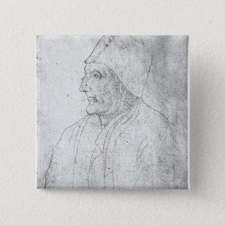Maitre Jean Froissart 15 Cm Square Badge