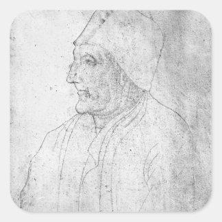 Maitre Jean Froissart Square Sticker