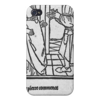 Maitre Pathelin and Guillemette iPhone 4 Cover