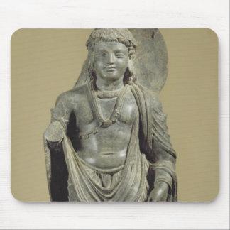 Maitreya, Gandhara (grey schist) Mouse Pad