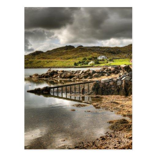 Maivaig Uig Outer Hebrides Postcard