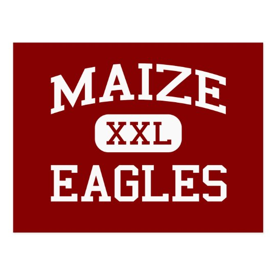 Maize - Eagles - Middle School - Maize Kansas Postcard