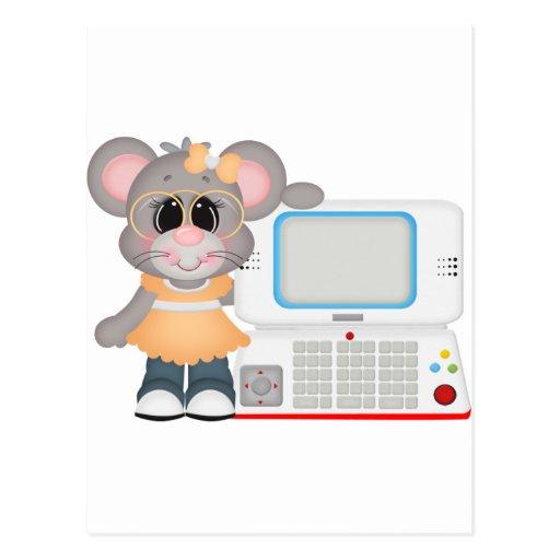 Maizie Game computer Postcard