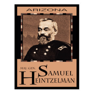 Maj. Gen. Samuel P. Heintzelman Postcard