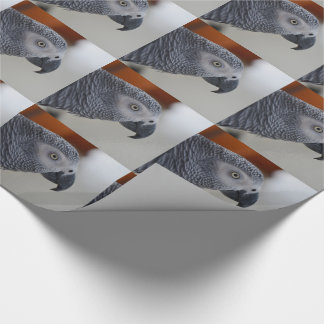 Majestic African Grey Parrot Wrapping Paper