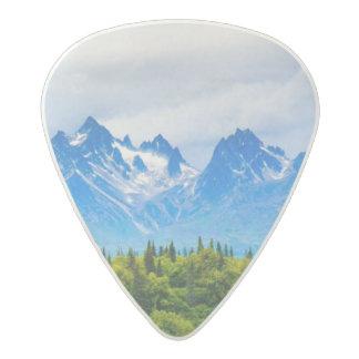 Majestic Alaska Mountains Acetal Guitar Pick
