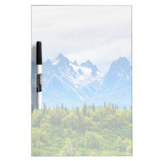 Majestic Alaska Mountains Dry-Erase Whiteboards