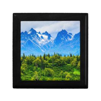 Majestic Alaska Mountains Gift Box