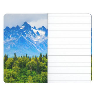 Majestic Alaska Mountains Journal