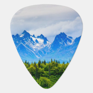 Majestic Alaska Mountains Plectrum