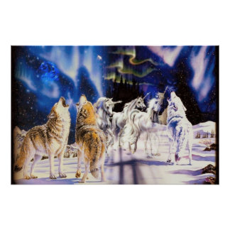 Majestic Animals Poster