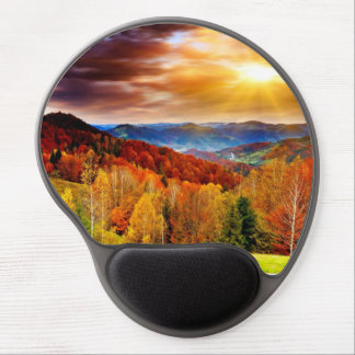 Majestic Autumn View Gel Mouse Mat