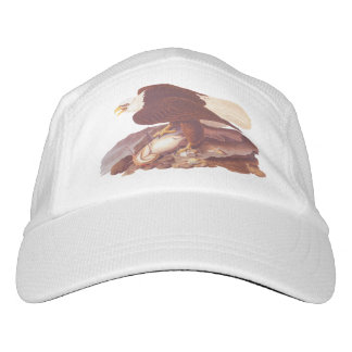 Majestic Bald Eagle by Audubon with Fresh Fish Hat