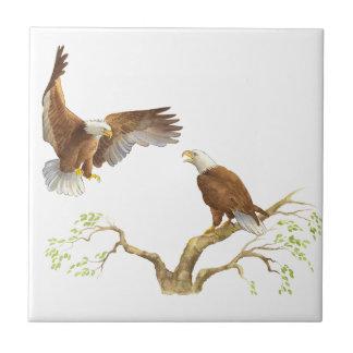 Majestic Bald Eagles Tile