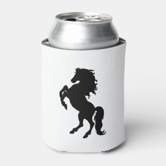 Majestic Black Stallion / Horse Can Cooler