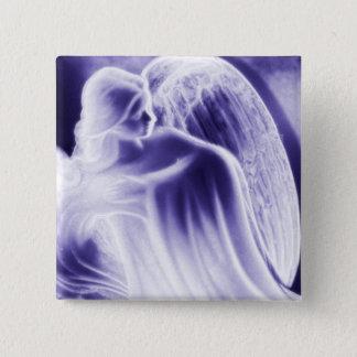 Majestic Blue Angel Fashion Pin