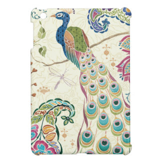 Majestic Blue Peacock iPad Mini Cover