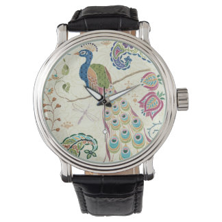 Majestic Blue Peacock Watch