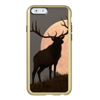 Majestic Bull Elk and Full Moon Rise Incipio Feather® Shine iPhone 6 Case