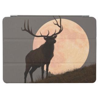 Majestic Bull Elk and Full Moon Rise iPad Air Cover