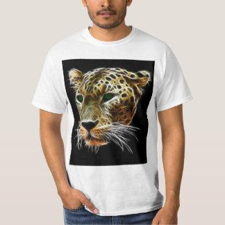 Majestic Cat Leopard Head T-Shirt