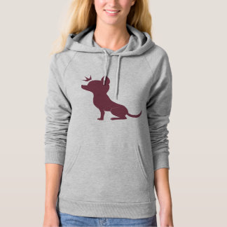 Majestic Chihuahua Hooded Pullover