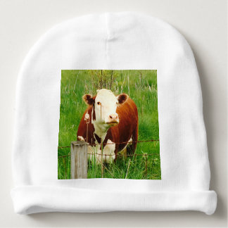 Majestic Cow 4Melvin Baby Beanie
