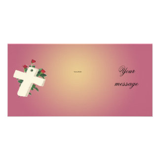Majestic (cros & rose) photo card template
