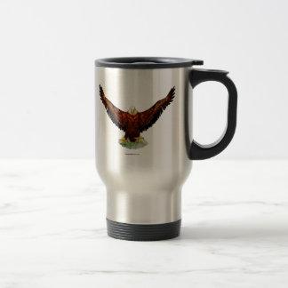 Majestic Eagle Coffee Flask Travel Mug