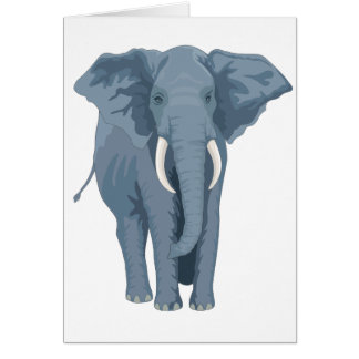 Majestic Elephant Card