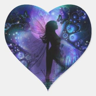 Majestic fairy sticker