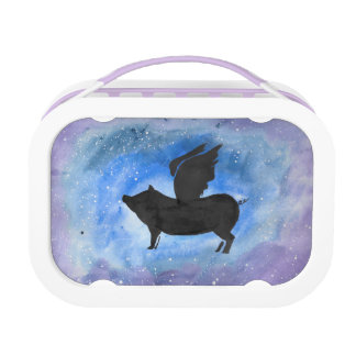 Majestic Flying Pig Lunch Box