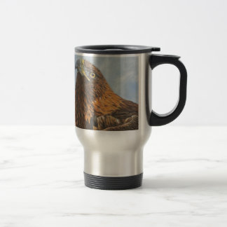 Majestic Golden Eagle Coffee Mugs