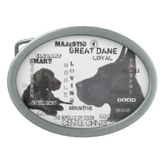 Majestic Great Danes Belt Buckle