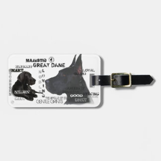 Majestic Great Danes Luggage Tag