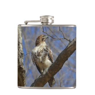 Majestic Hawk Hip Flask