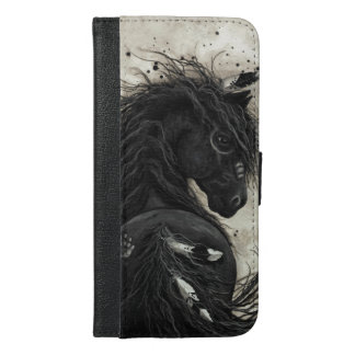 Majestic Horse by Bihrle Iphone 6s Plus Folio iPhone 6/6s Plus Wallet Case